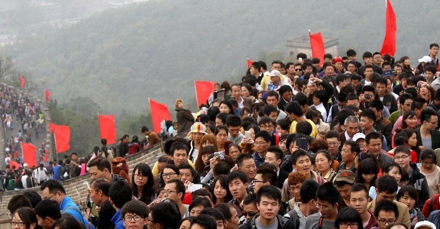 10月1日全国接待国内游客1.22亿人次