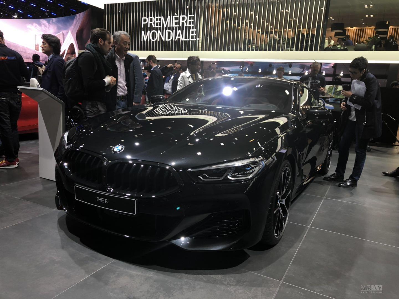 双门旗舰 BMW全新一代8系亮相巴黎车展