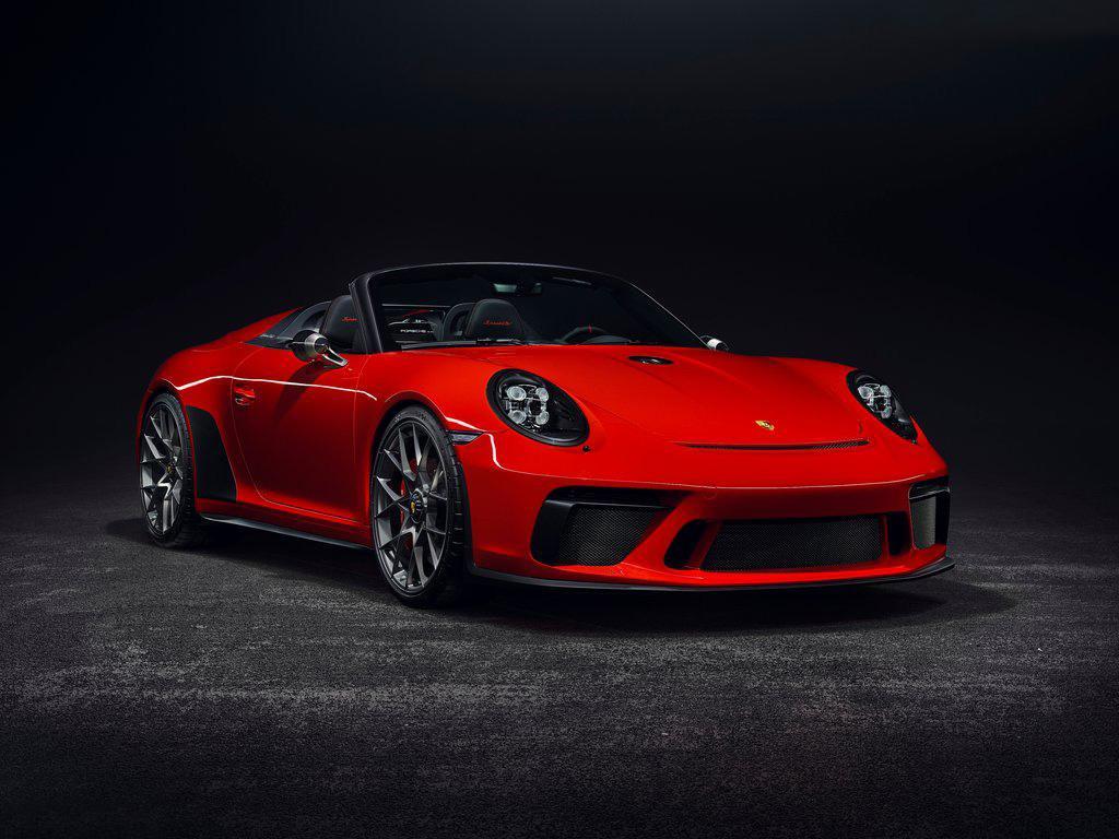 現款911收官之作 保時捷911 Speedster發布