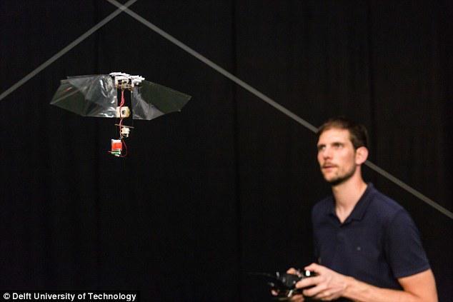 可悬停,可翻转! 新型仿生机器人灵活度堪比昆虫