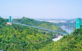兴宁熙和湾挂牌4A景区 超刺激空中玻璃吊桥