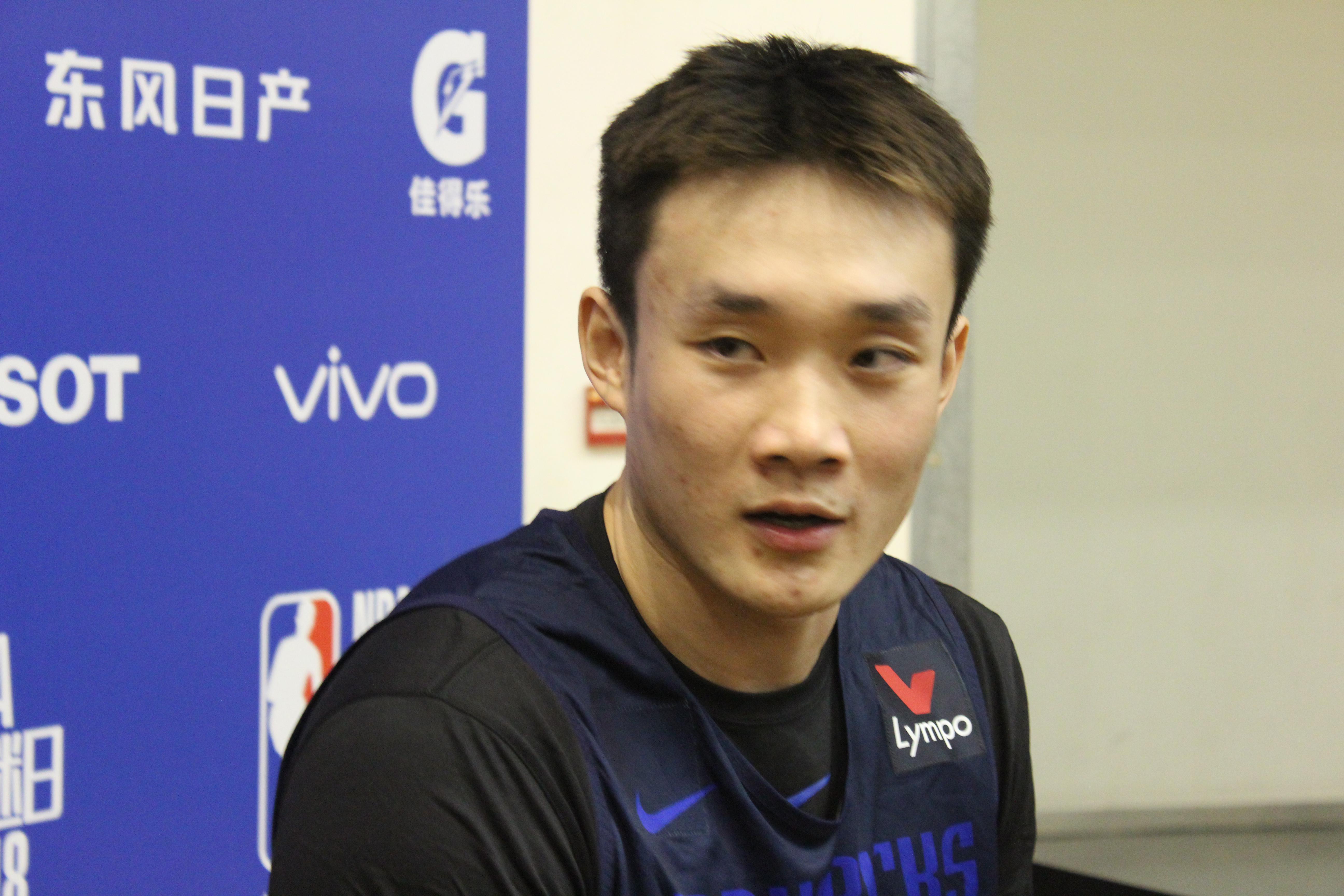 小丁:家门口不能打比赛很着急 希望深圳站能打球