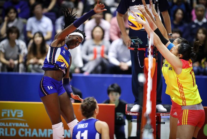 世锦赛首败!中国女排1