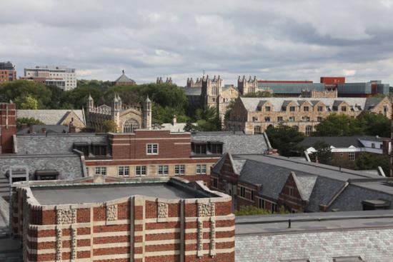 学生公寓顶层风景
