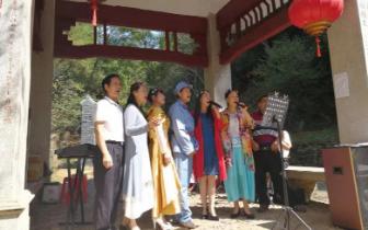 十月三日南粤古驿道旅游安全有序 文体活动丰富多彩