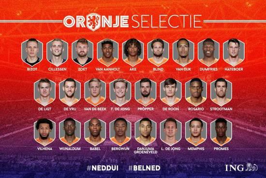 比利时国家队名单:卡拉斯科入选 巴萨大祭司回归