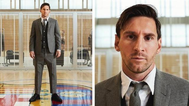 巴萨球员身着男装上GQ,绅士潇洒不同往日