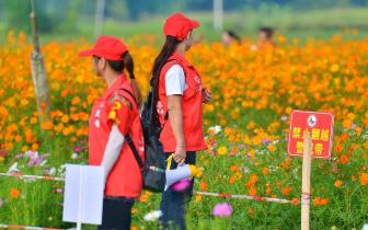 乐昌旅游志愿者构筑文明旅游风景线