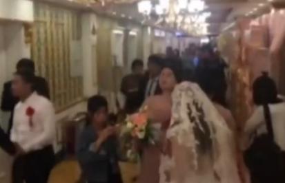酒店同时有12对新人结婚 宾客惊叹:不知道去哪吃饭