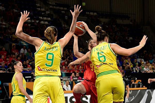 中国女篮在2018女篮世界杯获得第六名