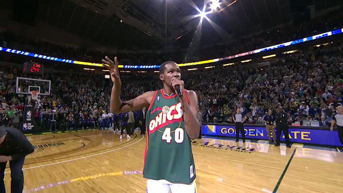 Kevin Durant回