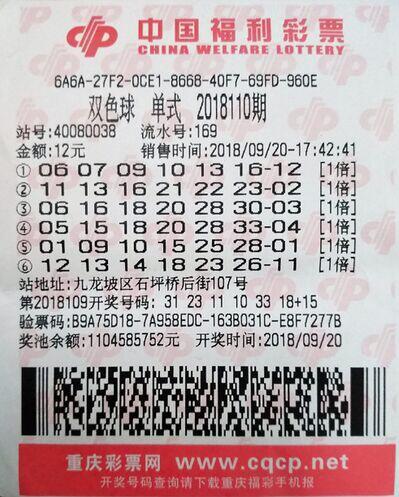 一家三口合伙买彩票 12元6注号码中千万