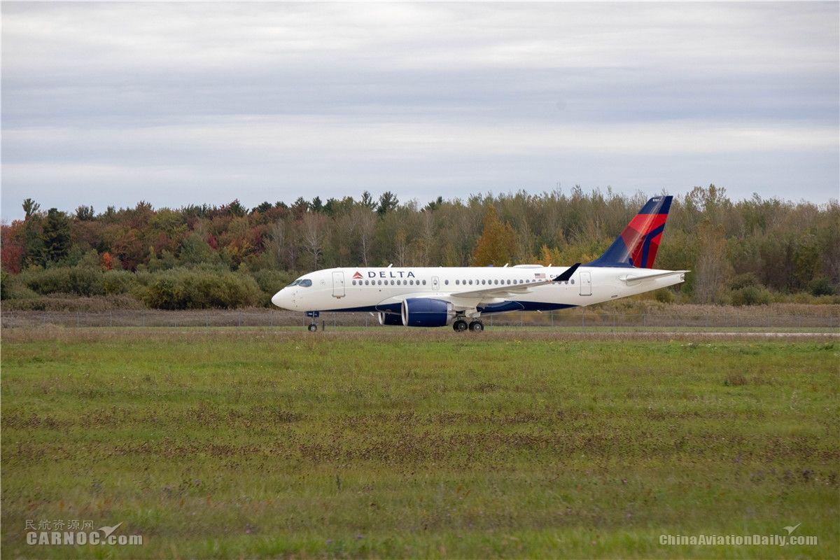 达美首架A220飞机完成首飞 明年初投入运营