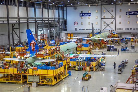 空客的全球策略:天津工厂10年交付近400架A320