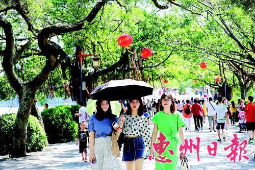 国庆假期惠州迎客510万人次