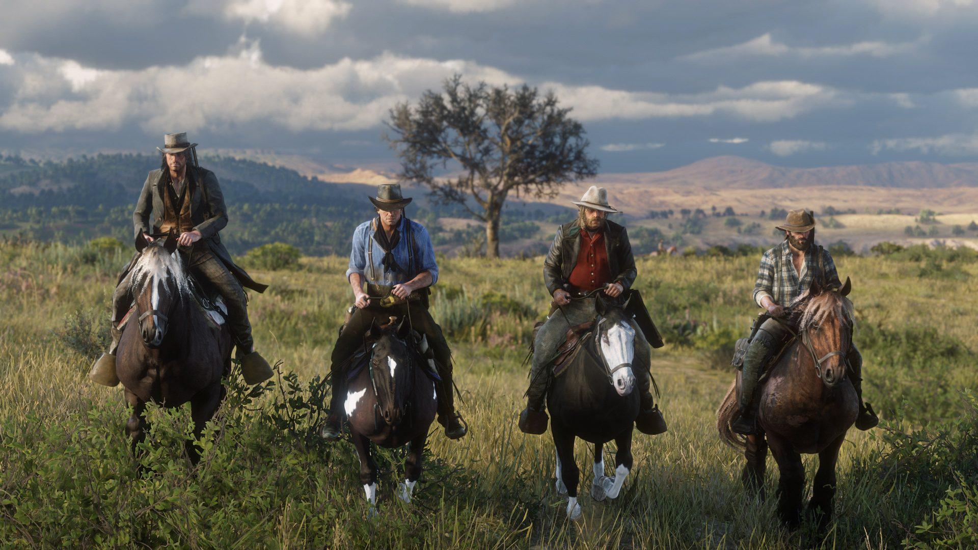 《荒野大镖客:救赎2》放出更多游戏截图 不一样的西部世界