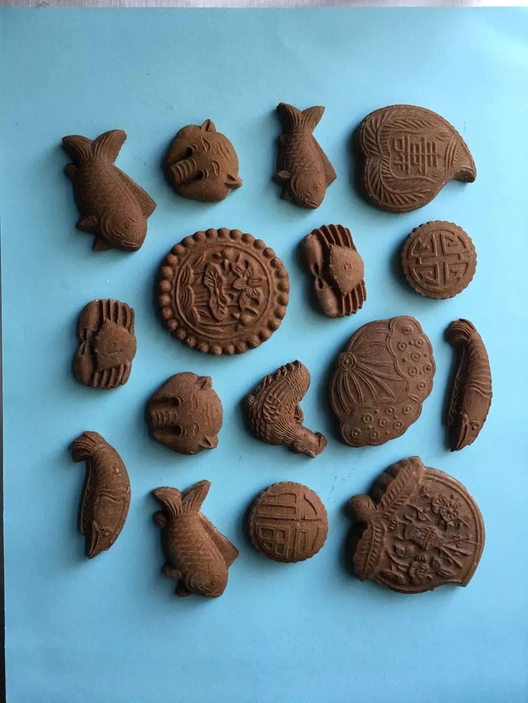 扶霞用中国月饼模子做欧式饼干
