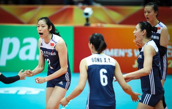 世锦赛中国横扫阿塞拜疆