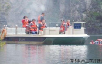 平顺县交通运输局 水上搜救应急演练保安全