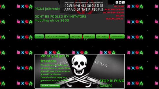 索尼起诉售卖破解PS4店主 破解主机内装有63款游戏