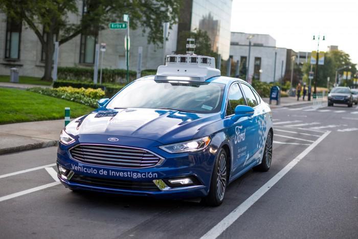 福特自动驾驶汽车新专利 开车如同玩手机游戏