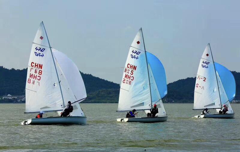 激扬青春 畅享运动 2018全国青年帆船冠军赛开幕