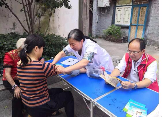 江西省胸科医院开展高血压义诊活动