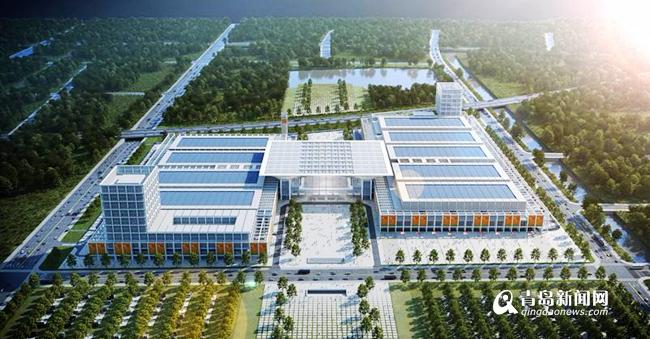 红岛国际会展中心年底竣工 为山东最大会展综合体