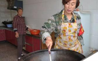 长治县工农庄村厚爱长者:孤寡老人有了免费午餐