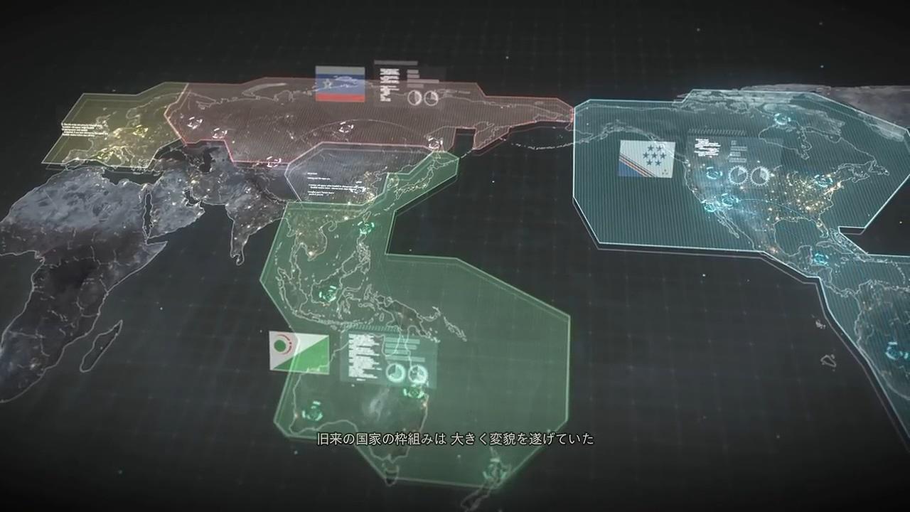 机甲大作《LEFT ALIVE》发布背景预告 与前线任务相同世界观