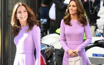 凯特王妃产后正式复出