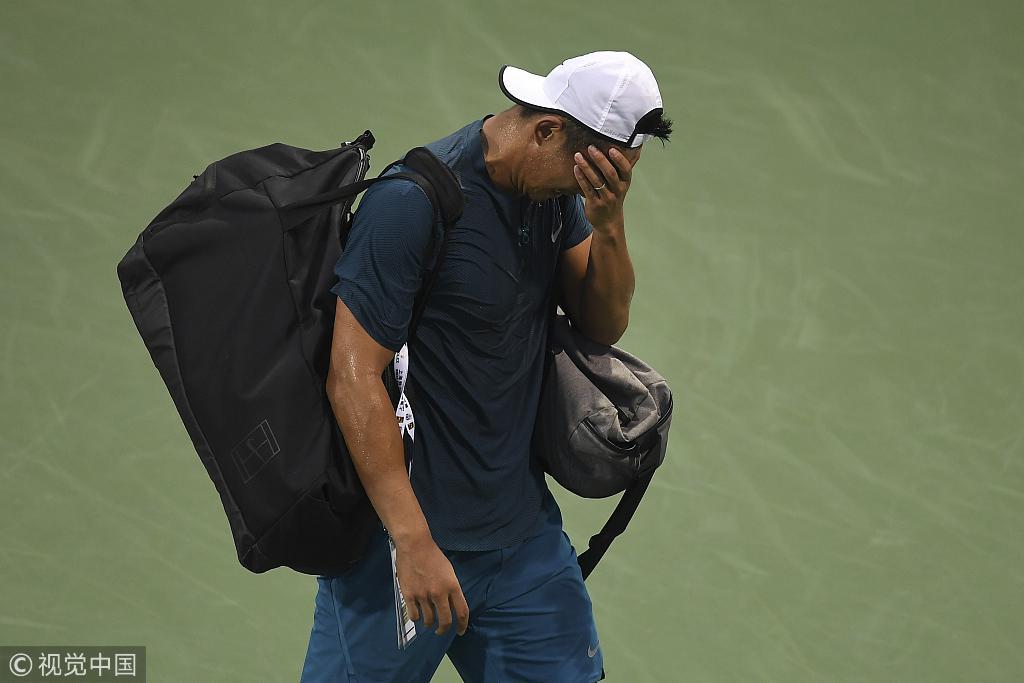 张择9次大师赛一轮游 他是中国男网的最高水平