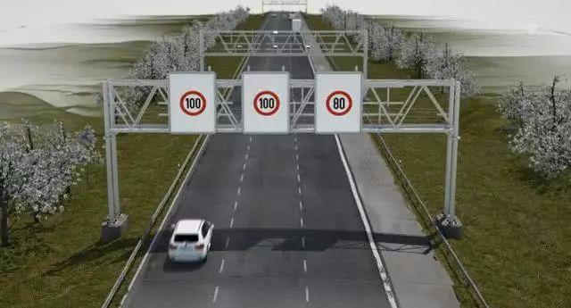"""高速公路的""""区间测速""""很简单 许多司机还是不懂"""