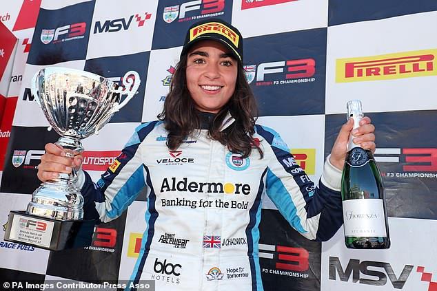 女子F1將上線 千萬獎金培養首位女性車手總冠軍