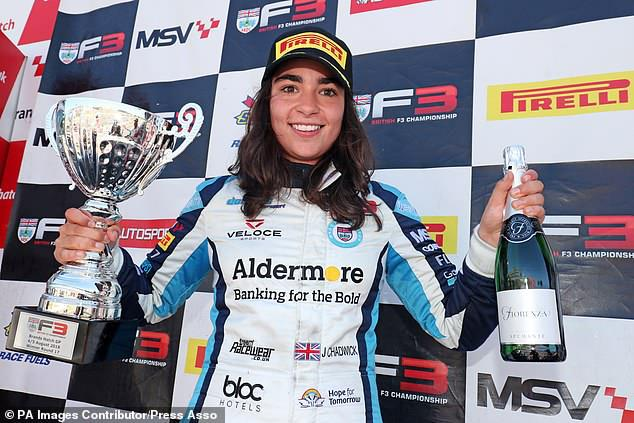 女子F1将上线 千万奖金培养首位女性车手总冠军