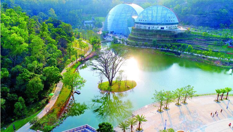 惠州植物园试运行 市民可免费参观
