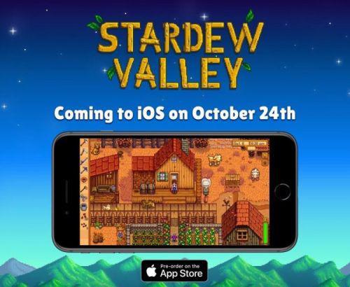 《星露谷物语》10月24日登陆iOS 安卓版移植正在进行中