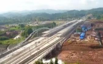 """宜宾将迎高铁时代!本月""""复兴号""""将在成贵高铁四川段试运行"""