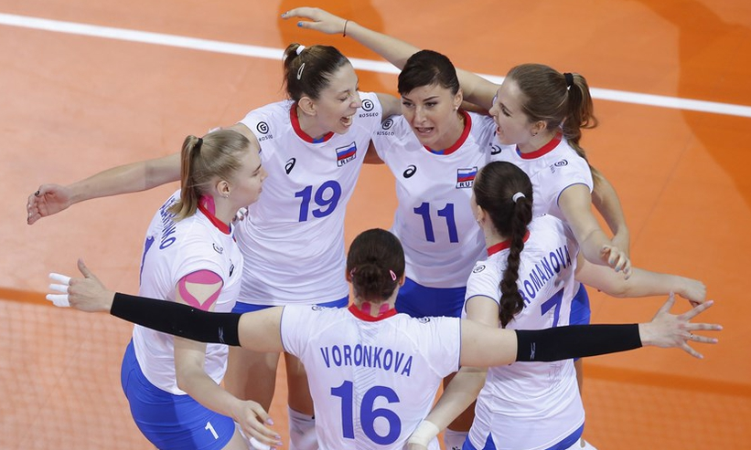 世锦赛-中俄上演巅峰对决 女排四局获胜最被看好
