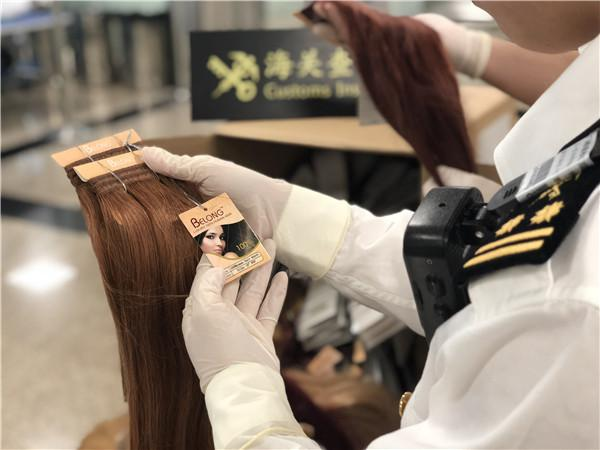 乘客携带20千克头发被截获 海关:潜藏极大疫情风险