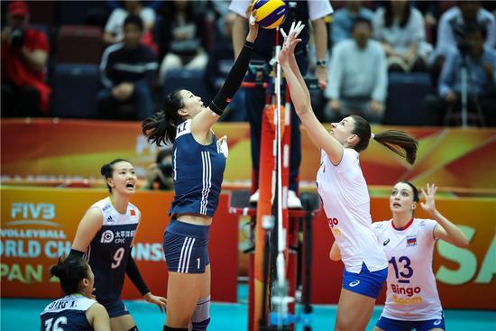 洪钢:中国与塞尔维亚风格较像 惠若琪:赢在板凳深度