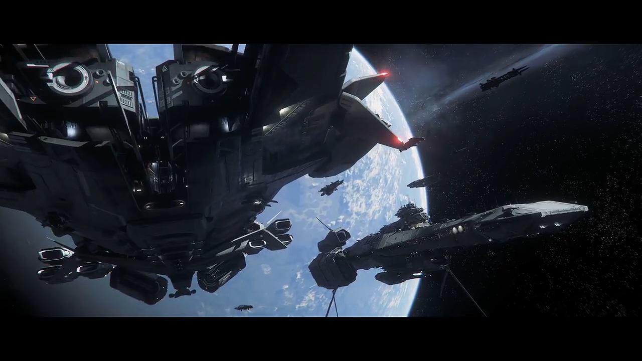 《星际公民》发布全新游戏预告 《42中队》精彩的宇宙战斗