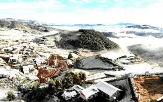 美!凉山这些地方下雪了,宛如人间仙境......