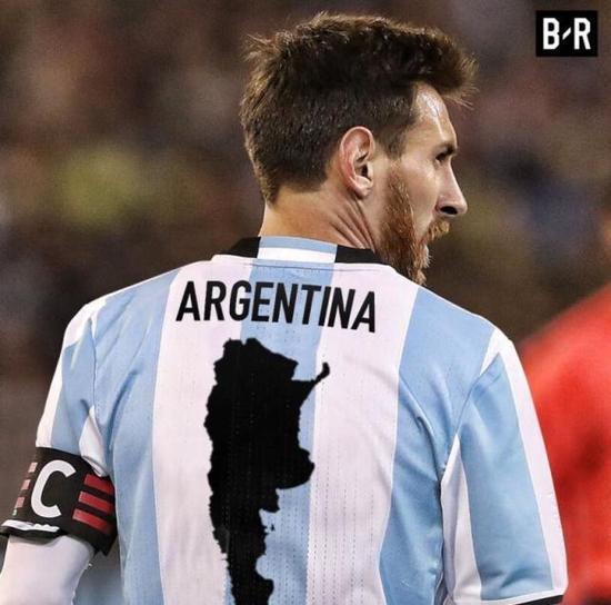 BR经典出品:梅西=阿根廷