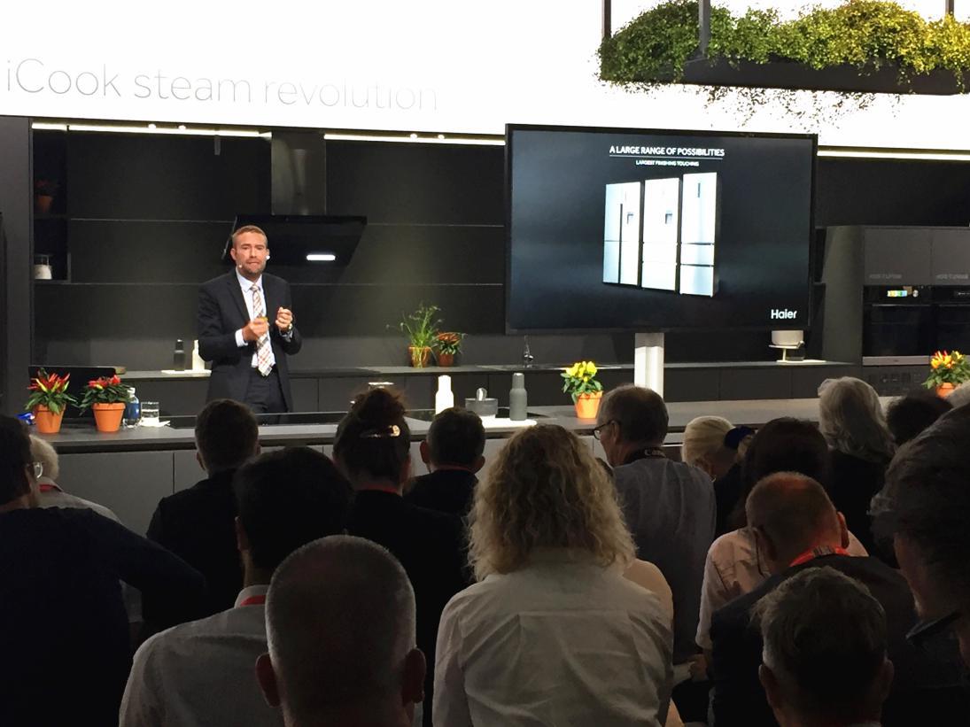 IFA2018海尔冰箱全开式抽屉获德国检测机构VDE点赞:节能30%