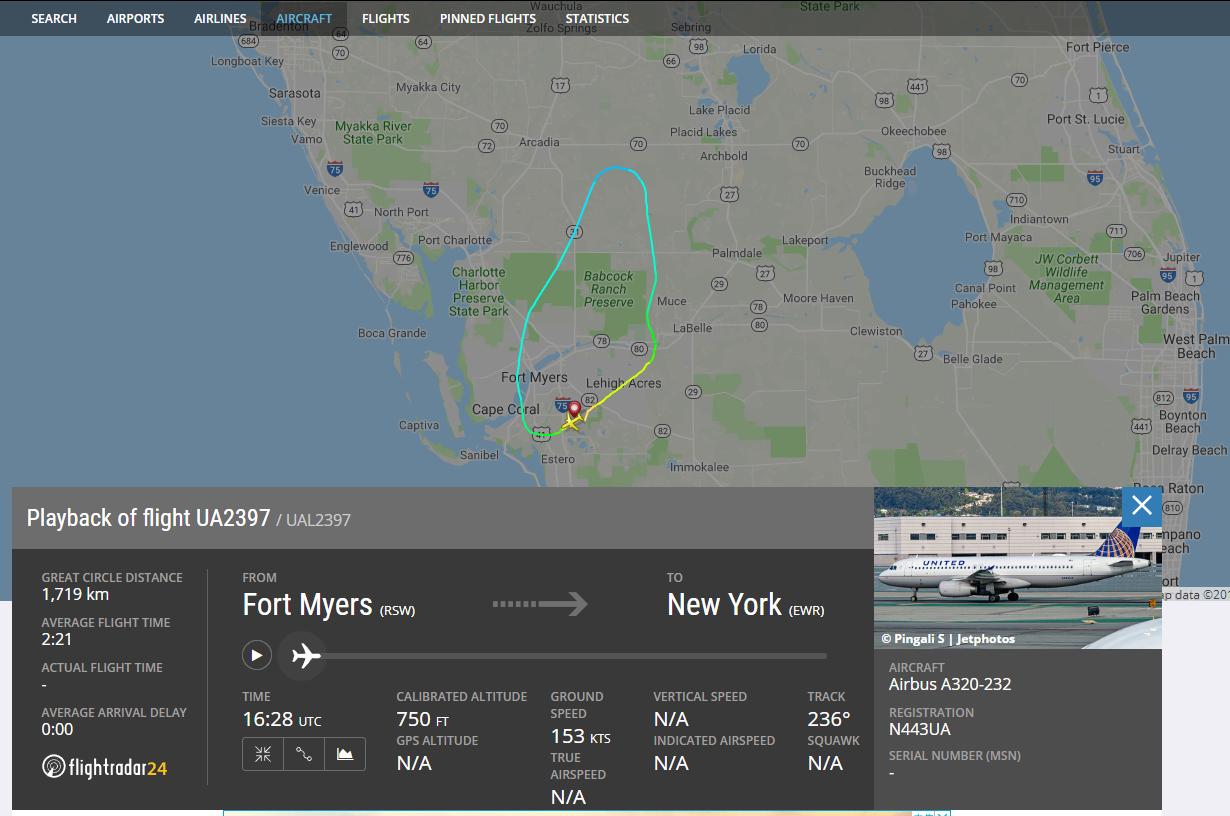美联航客机引擎爆炸致返航无人受伤