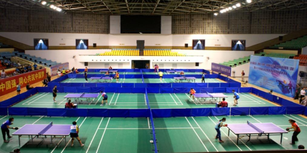 第一届全民健身系列赛业余乒乓球单项赛在孝举行