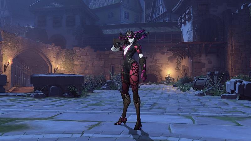 守望先锋万圣节活动现已上线,怪鼠新娘竟是她!