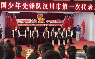 中国少年先锋队汉川市第一次代表大会召开