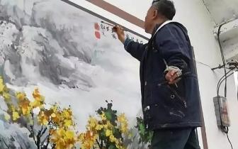 邯郸:超赞!国家一级美术师用画笔支援家乡建设
